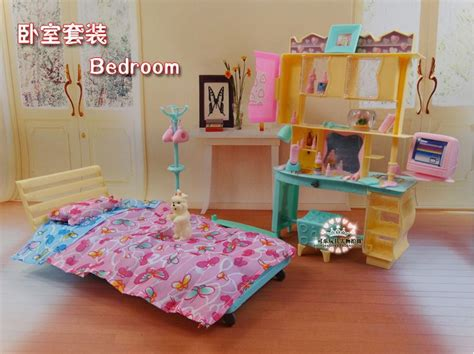 2014 new doll furniture accessories for barbie sofa aliexpress com buy new design doll bed cabinet set