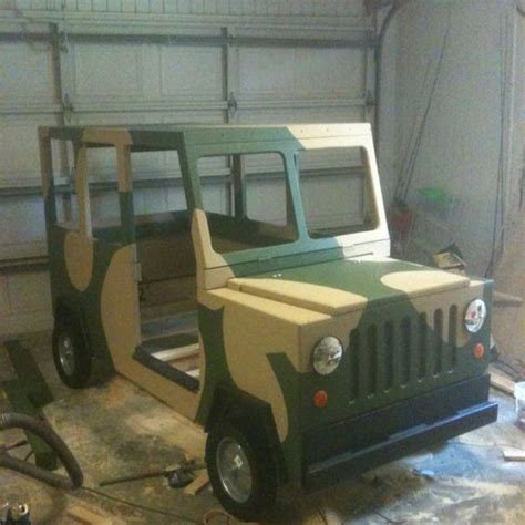 jeep beds diy hand made jeep bed could be used in a army
