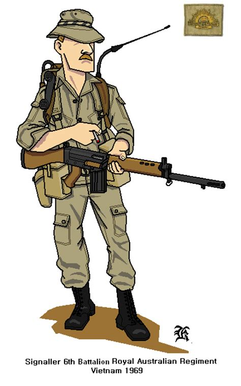 Airsoft Equipment Picture More Detailed Picture About australian army vietnam 1969 by darthpandanl on deviantart