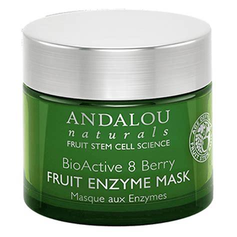 fruit enzyme mask andalou bioactive berry fruit enzyme mask