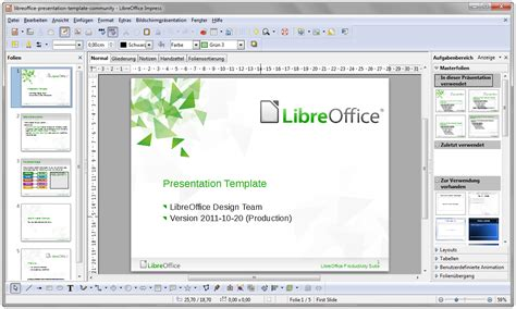 libre office templates file libreoffice 3 5 impress withcontent german windows 7
