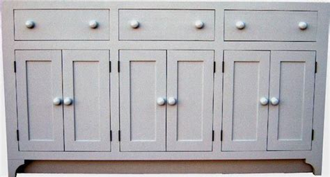How To Make Flush Cabinet Doors by Shaker Style Painted Cabinet With Flush Doors And Drawers