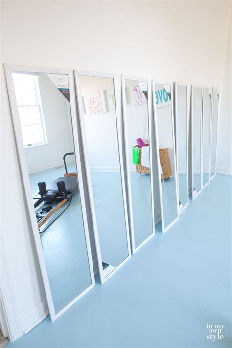 fitness room mirrors in my own style