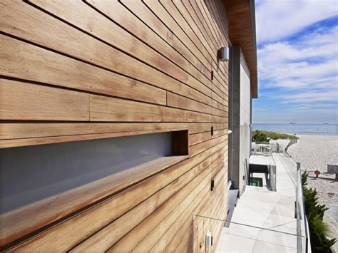 wood pattern exterior the sea project beach house exterior with bbs panels and