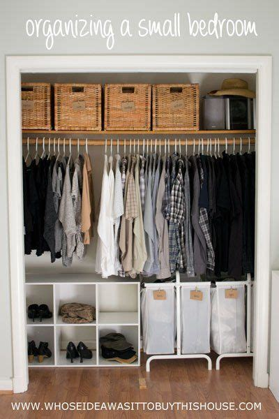 organizing bedroom ideas 25 best ideas about small closet organization on