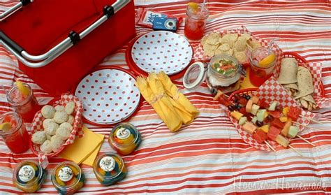Come With Me Picnic Menu I by Planning A Picnic Hoosier