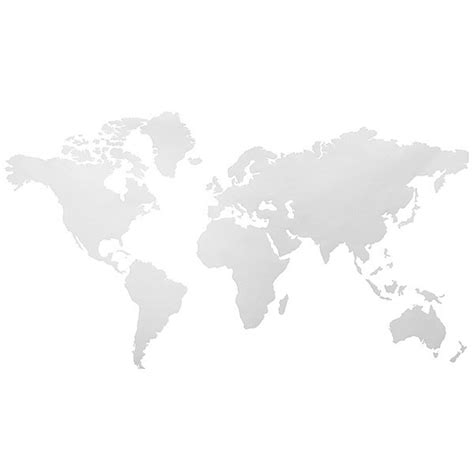 black and white map wallpaper oem 112x60cm world map removable vinyl wall sticker