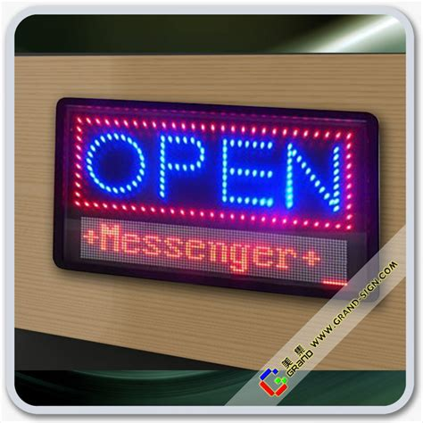 Led Sign Open china led open sign china sign open sign