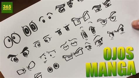 imagenes de ojos faciles para dibujar como dibujar ojos anime como dibujar ojos manga how to