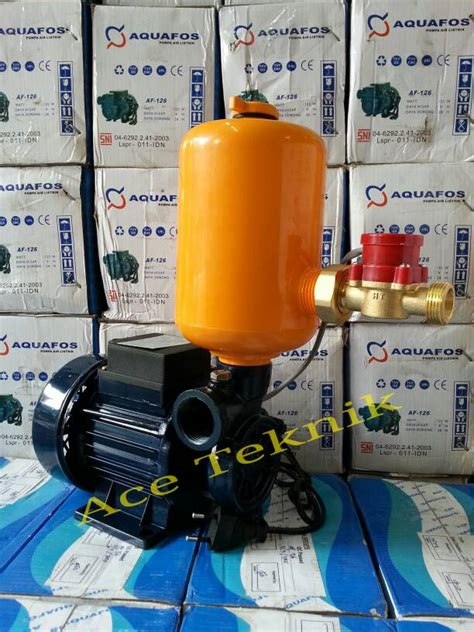 Pompa Air 125 W Aquafos Af 126 jual pompa dorong booster modifikasi pompa air