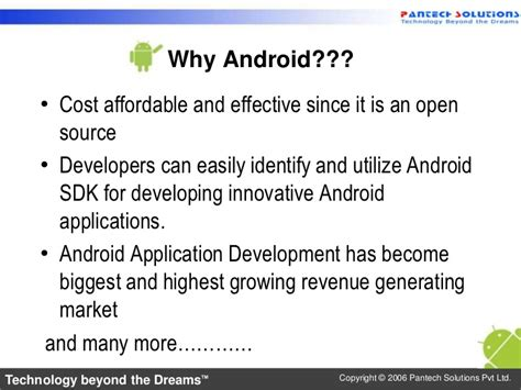 Why Android Is Open Source by Introduction To Android