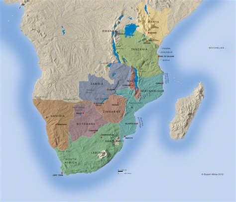 africa map 2013 countries map 2013