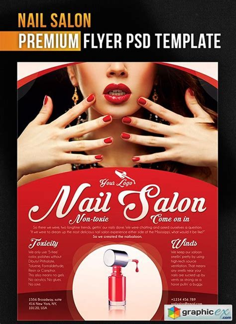 flyer templates nail salon nail salon flyer www imgkid com the image kid has it