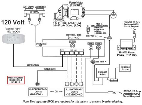 thermospa parts diagram ej07000 designer iv box electronic 120