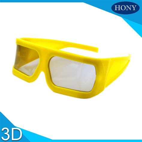 Bigyellow Lookup Big Yellow Frame 3d Glasses Hony3ds