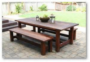 plans to build outdoor dining table plans diy pdf download