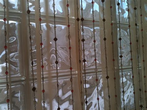 Beads And Sheer Curtains Studley Road Pinterest
