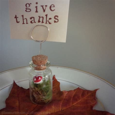 diy place card holders thanksgiving diy place card holders pleasure in simple