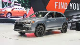 mitsubishi outlander sport gains limited edition trim mitsubishi polishes the outlander sport for new limited