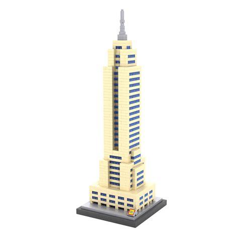 Loz Mini 1005 Guggenheim Museum Ny loz mini empire state building block new york