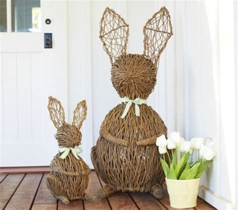easter decorations for home 30 cool easter porch d 233 cor ideas digsdigs