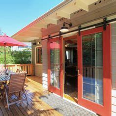 keith sara s outside in inside out modern farmhouse sectional glass garage doors used in modern designs