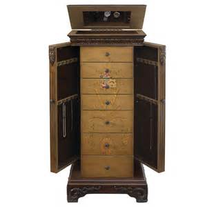 Painted Jewelry Armoires Powell Masterpiece Painted Jewelry Armoire 582 314