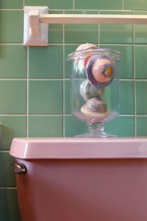 how to increase your bathroom s charm with the right lighting preserve the pink how to enhance the retro bathroom s