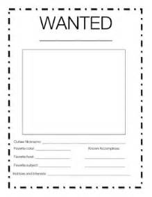 black and white wanted poster template west wanted poster teacherspayteachers gameshd