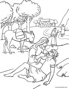 the samaritan coloring page mormon doodles the samaritan coloring page sunday