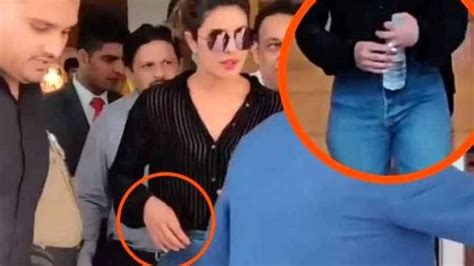 video of priyanka chopra engagement watch video priyanka chopra caught removing her