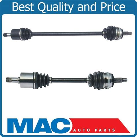 Top Lx 8120 pair new front left right cv drive axle shaft assembly