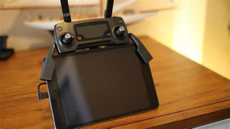setup ipad mini  dji mavic pro tech