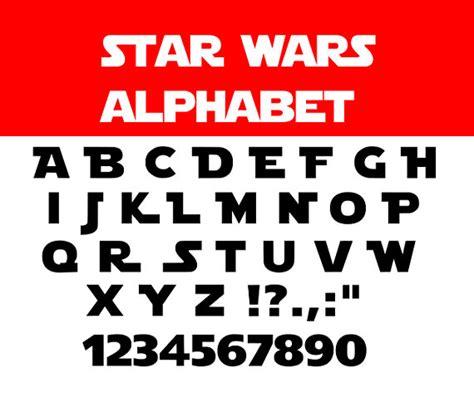 lettere alfabeto da stare gratis wars font svg wars svg wars alphabet svg