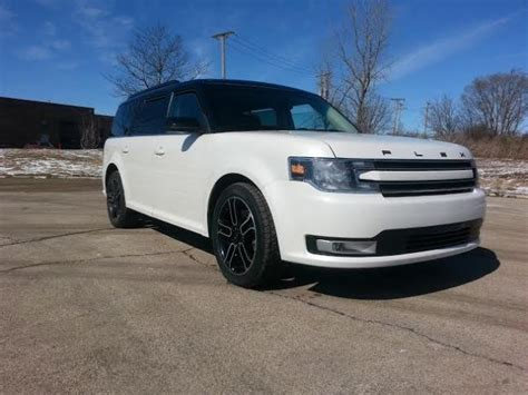 best auto repair manual 2013 ford flex parking system 2013 ford flex sel white black top black leather interior fully loaded clean