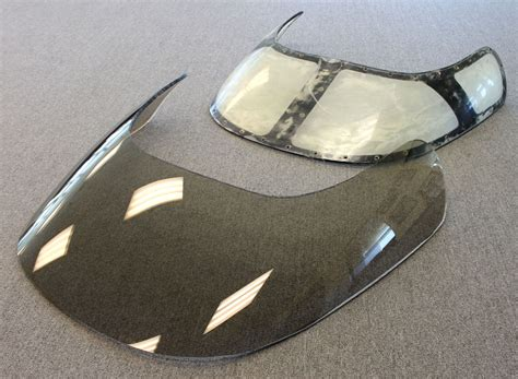 boat windshield canopy aero marine finishes new windshield for cigarette 36 gladiator