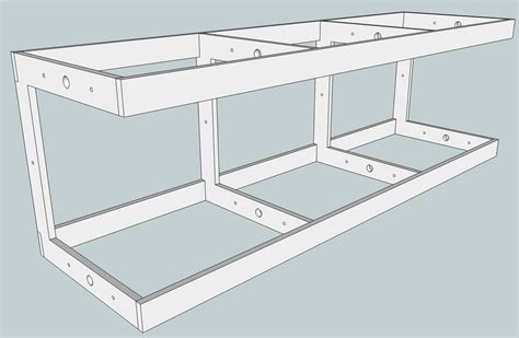 shelving layout modular design for a shelf layout small model railroads
