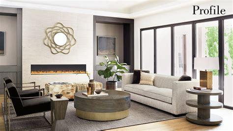 profile living room items bernhardt