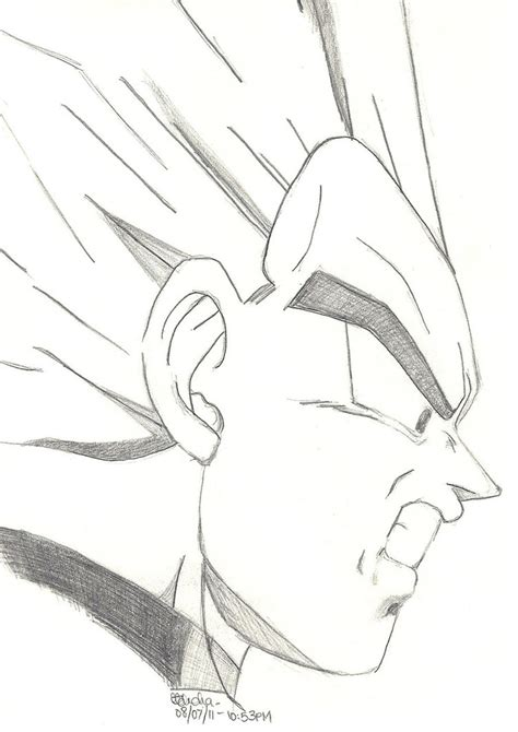 Z Drawing Images easy goku drawings in pencil simple pencil drawing