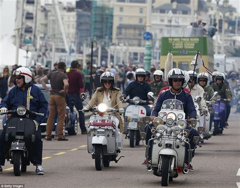 The Mods veterans return for a nostalgic day out more than 50 years