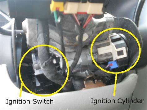 starter lada neon switch and cylinder