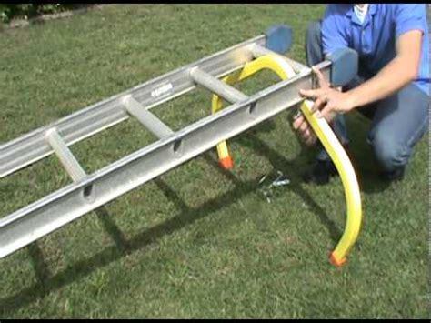 ladder roof standoff installing the corner buddy ladder standoff