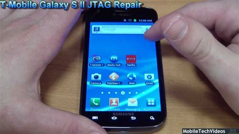 how to fix samsung galaxy y brick phone using odin v185 t mobile samsung galaxy s ii t989 jtag service