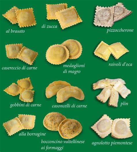 ravioli pasta types and types of on pinterest