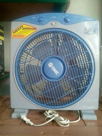 Kipas Angin Box 12 Inch jual kipas angin meja kipas angin duduk box fan gmc 709