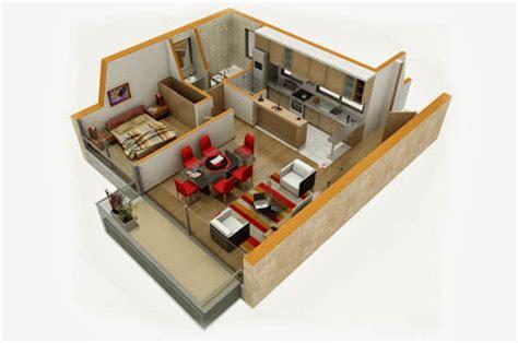 dise o casas 3d departamentos peque 241 os planos y dise 241 o en 3d construye