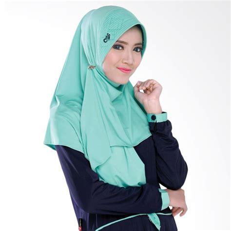 Jilbab Nafisa jual nafisa production salvina jilbab cantik biru muda