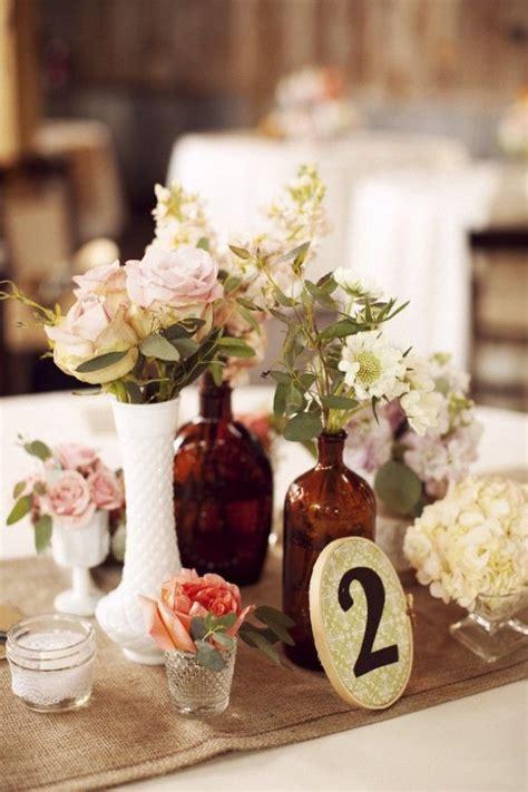 assorted vintage brown bottles milk glass vases cute