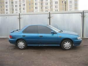 1995 Subaru Impreza 1995 Subaru Impreza Pictures 1800cc Gasoline Manual
