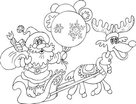 imagenes de navidad para colorear en el ordenador 54 dibujos de navidad tarjetas papa noel y arbolitos de